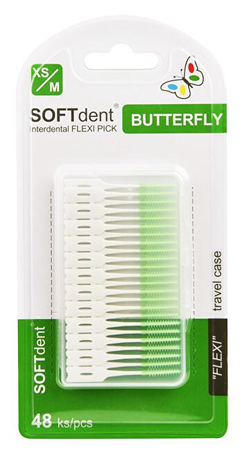 Zobrazit detail výrobku SOFTdent Butterfly FLEXI PICK 48 ks