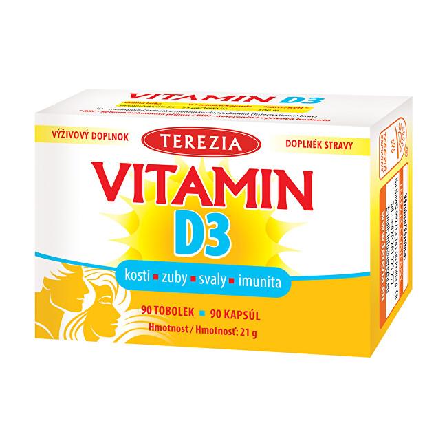 Zobrazit detail výrobku Terezia Company TEREZIA Vitamin D3 1000 IU 90 tobolek