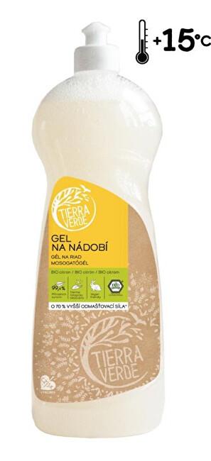 Zobrazit detail výrobku Tierra Verde Gel na nádobí s BIO citronovou silicí lahev 1 l
