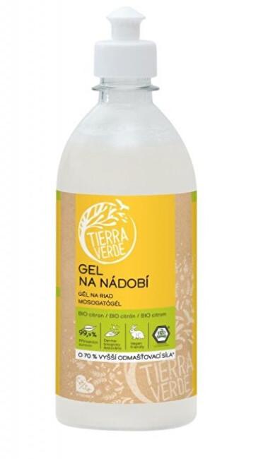 Zobrazit detail výrobku Tierra Verde Gel na nádobí s BIO citronovou silicí lahev 500 ml