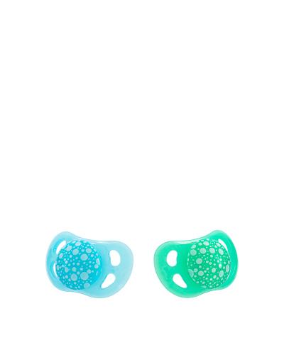 Zobrazit detail výrobku TWISTSHAKE Dudlík 0-6 m 2 ks pastelově modrý a zelený