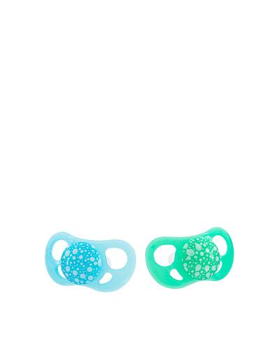 Zobrazit detail výrobku TWISTSHAKE Twistshake 2x dudlík 6+m pastelově modrý a zelený