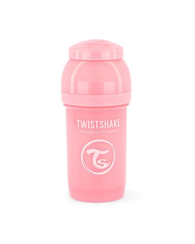 Zobrazit detail výrobku TWISTSHAKE Twistshake Kojenecká láhev Anti-Colic 180 ml pastelově růžová