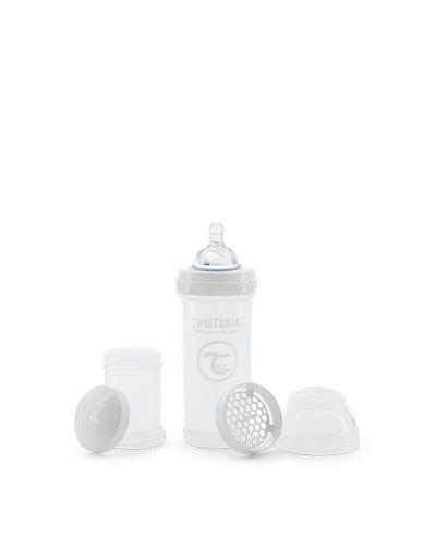 Zobrazit detail výrobku TWISTSHAKE Twistshake Kojenecká láhev Anti-Colic 260 ml bílá