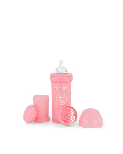 Zobrazit detail výrobku TWISTSHAKE Kojenecká lahev Anti-Colic 260 ml pastelově růžová