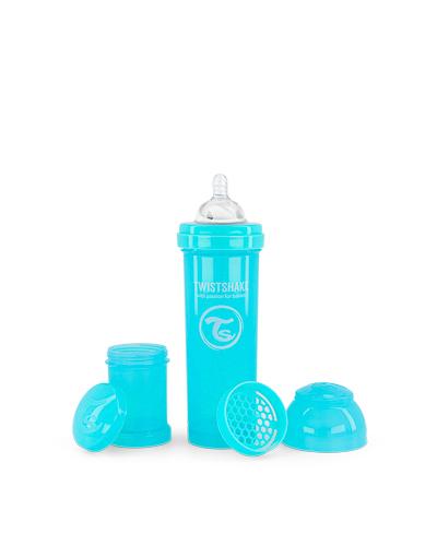 Zobrazit detail výrobku TWISTSHAKE Twistshake Kojenecká láhev Anti-Colic 330 ml pastelově modrá