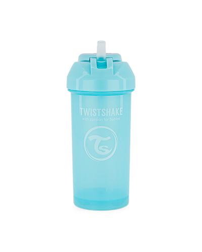 Zobrazit detail výrobku TWISTSHAKE Twistshake netekoucí lahev s brčkem 360 ml 6m+ pastelově modrá
