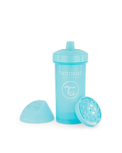 Zobrazit detail výrobku TWISTSHAKE Twistshake netekoucí lahev s pítkem 360 ml 12m+ pastelově modrá