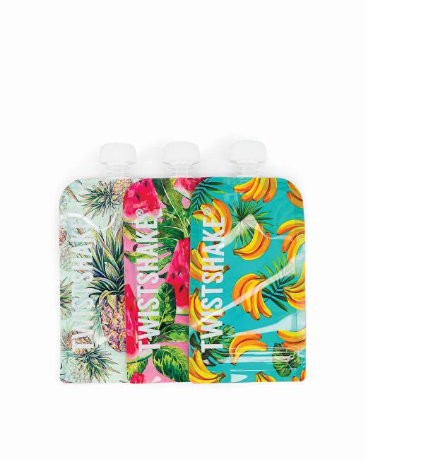 Zobrazit detail výrobku TWISTSHAKE Plnitelná kapsička Fruit 220 ml 3 ks