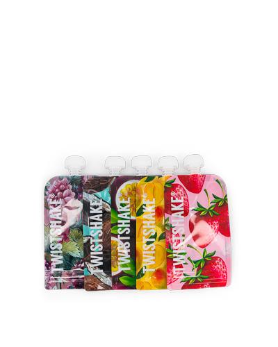 Zobrazit detail výrobku TWISTSHAKE Plnitelná kapsička Fruit 220 ml 5 ks