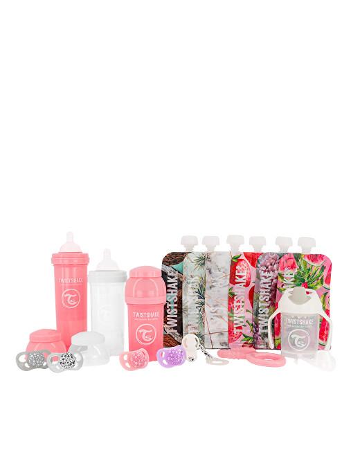 Zobrazit detail výrobku TWISTSHAKE Twistshake sada lahviček 1 dívčí