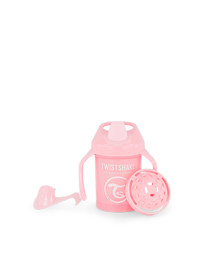 Zobrazit detail výrobku TWISTSHAKE Twistshake učící netekoucí hrnek 230 ml pastelově růžová