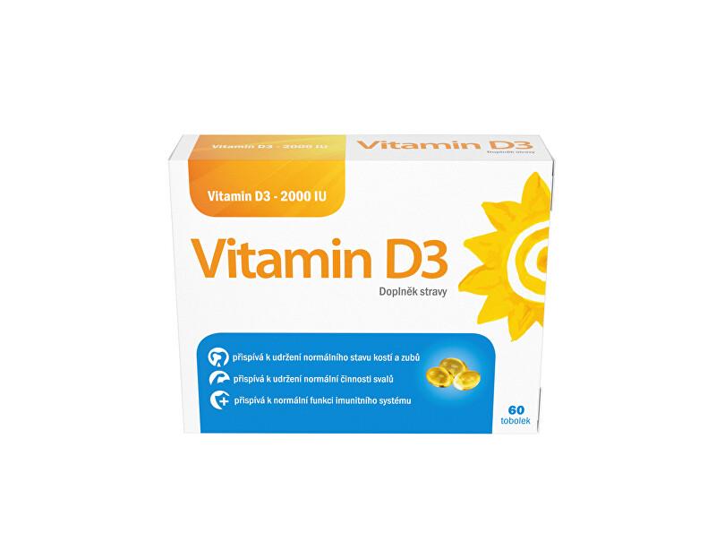 Zobrazit detail výrobku Vitamin D3 Vitamin D3 2000IU 60 tobolek