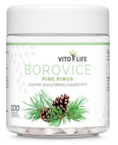 Zobrazit detail výrobku Vito life Borovice Pinus 100 tobolek
