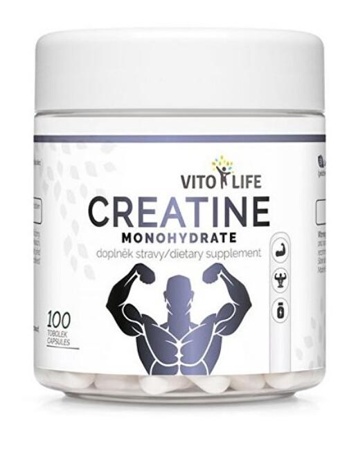 Zobrazit detail výrobku Vito life Creatine monohydrate 100 tobolek
