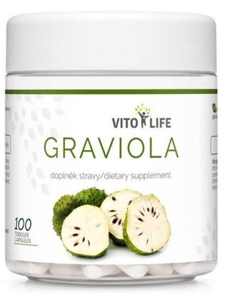 Zobrazit detail výrobku Vito life Graviola 100 tobolek