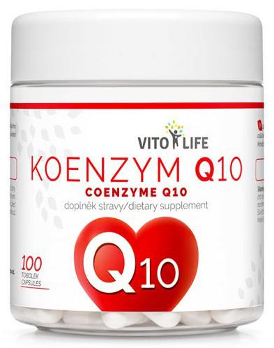 Zobrazit detail výrobku Vito life Koenzym Q10, 100 tobolek