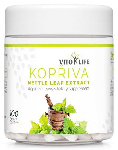 Zobrazit detail výrobku Vito life Kopřiva dvoudomá 400 mg 2 % silice, 100 tobolek