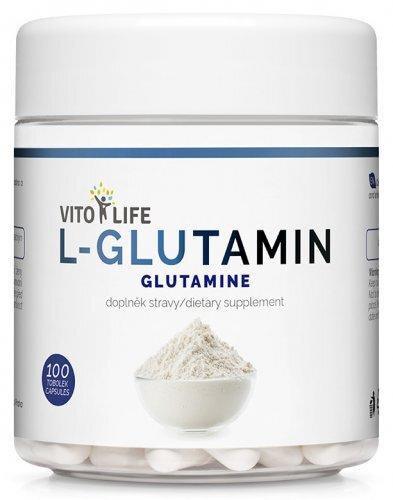Zobrazit detail výrobku Vito life L-Glutamin 100 tobolek