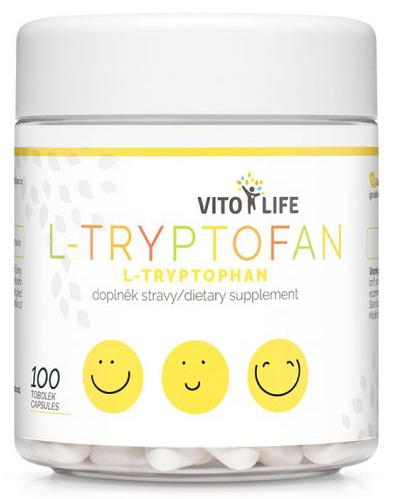 Zobrazit detail výrobku Vito life L-Tryptofan 200 mg, 100 tobolek