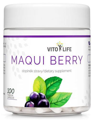 Zobrazit detail výrobku Vito life Maqui berry 1440 mg, 100 tobolek