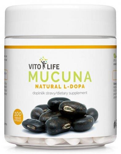 Zobrazit detail výrobku Vito life Mucuna pruriens 100 tobolek