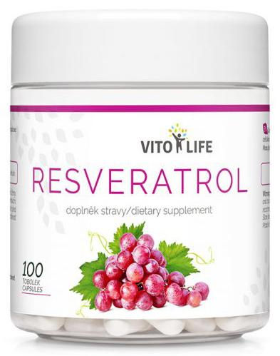 Zobrazit detail výrobku Vito life Resveratrol, 100 tobolek