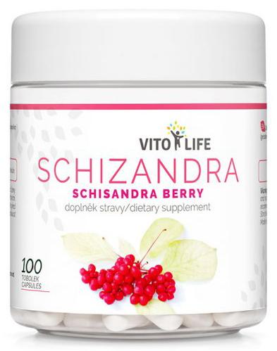 Zobrazit detail výrobku Vito life Schizandra čínská, 100 tobolek