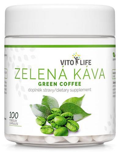 Zobrazit detail výrobku Vito life Zelená káva, 100 tobolek