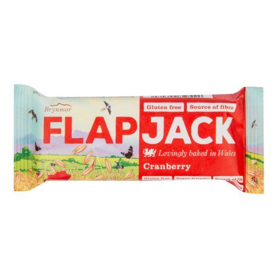 Zobrazit detail výrobku Wholebake Flapjack ovesný brusinka bezlepkový 80 g