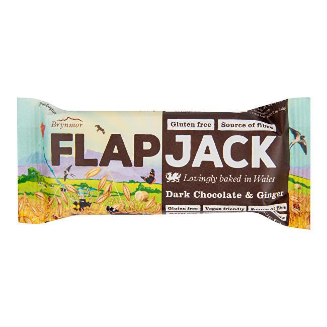 Zobrazit detail výrobku Wholebake Flapjack ovesný čokoláda se zázvorem bezlepkový 80 g