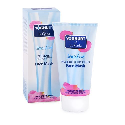 Zobrazit detail výrobku Yogurt of Bulgaria Probiotická pleťová maska ultra detoxická 150 ml