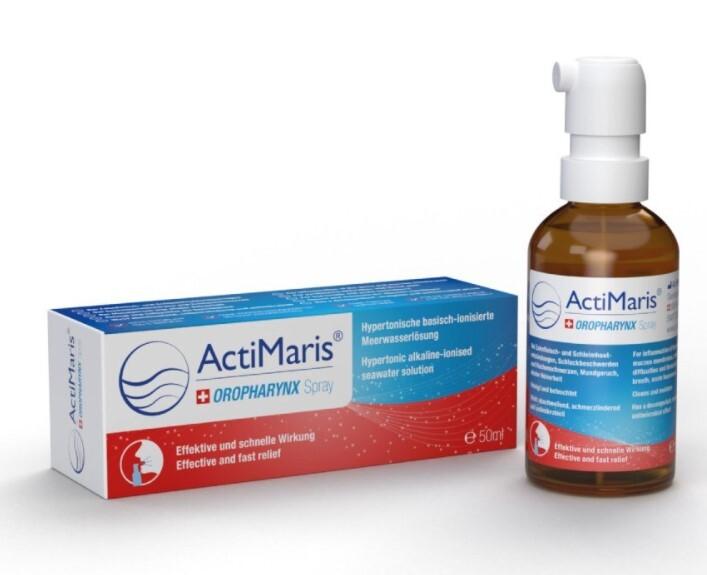 Zobrazit detail výrobku ActiMaris OROPHARYNX Sprej na záněty a infekce 50 ml