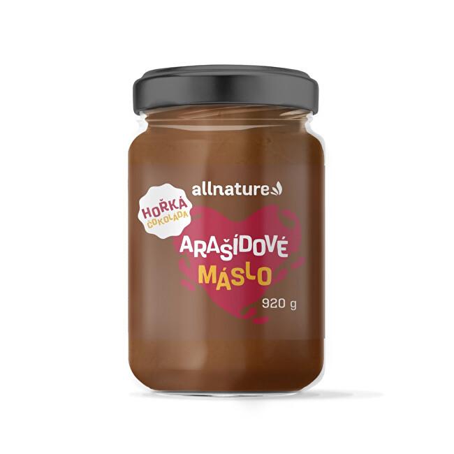 Zobrazit detail výrobku Allnature Arašídové máslo s hořkou čokoládou 920 g