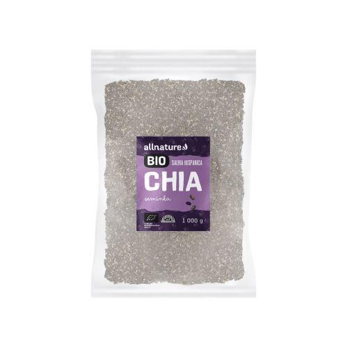 Zobrazit detail výrobku Allnature Chia semínka BIO 1 000 g