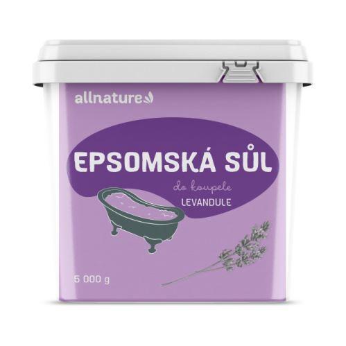 Zobrazit detail výrobku Allnature Epsomská sůl Levandule 5 kg