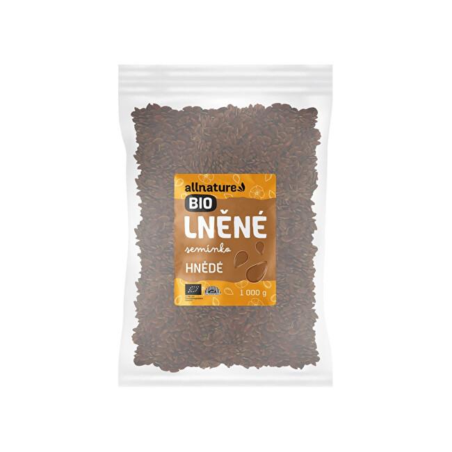 Zobrazit detail výrobku Allnature Lněné semínko hnědé BIO 1 000 g