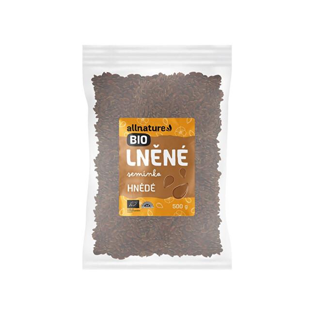 Zobrazit detail výrobku Allnature Lněné semínko hnědé BIO 500 g