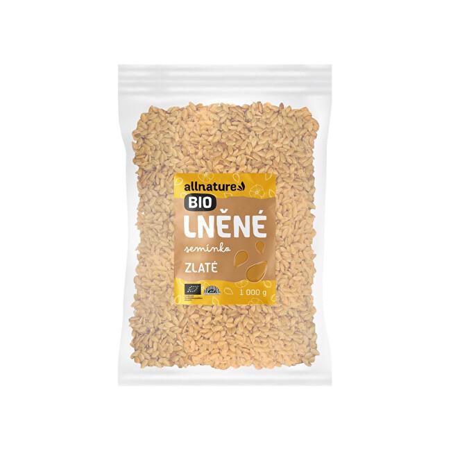 Zobrazit detail výrobku Allnature Lněné semínko zlaté BIO 1 000 g