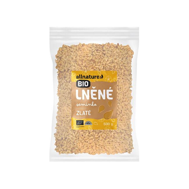 Zobrazit detail výrobku Allnature Lněné semínko zlaté BIO 500 g