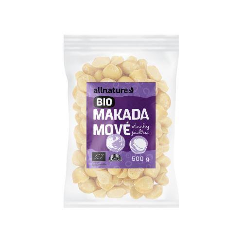 Zobrazit detail výrobku Allnature Makadamové ořechy BIO 500 g