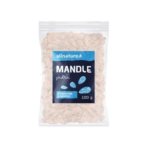 Zobrazit detail výrobku Allnature Mandle s kokosem a skořicí 100 g