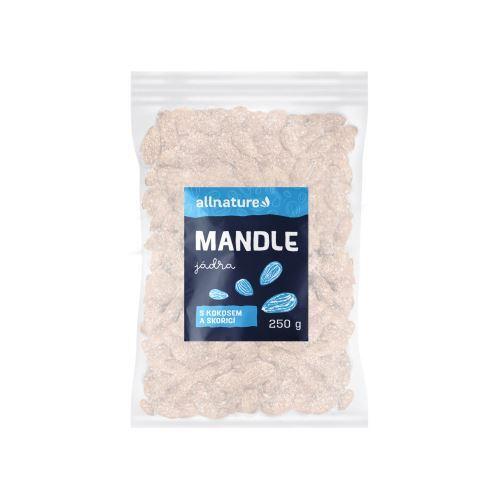 Zobrazit detail výrobku Allnature Mandle s kokosem a skořicí 250 g