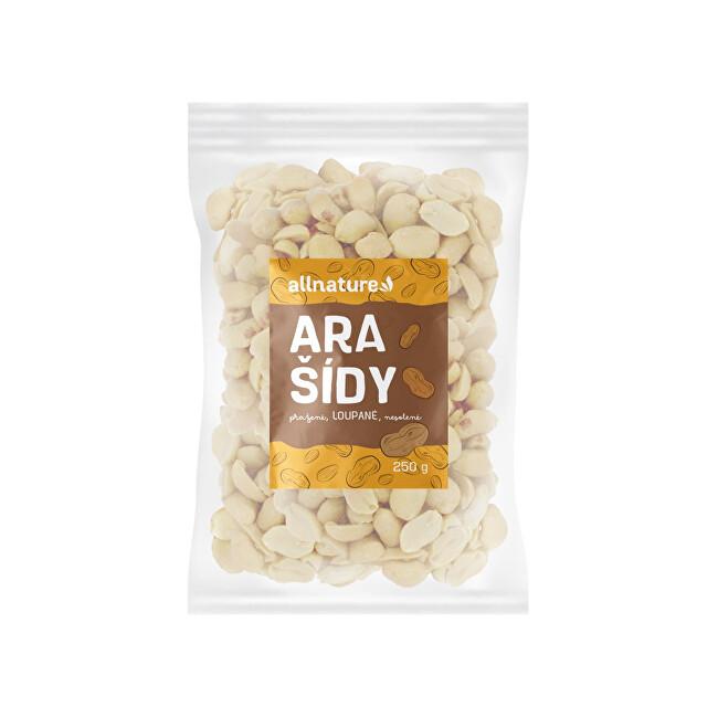 Zobrazit detail výrobku Allnature Arašídy pražené loupané nesolené 250 g