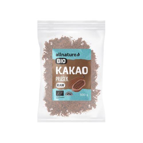 Zobrazit detail výrobku Allnature Kakaový prášek BIO RAW 500 g