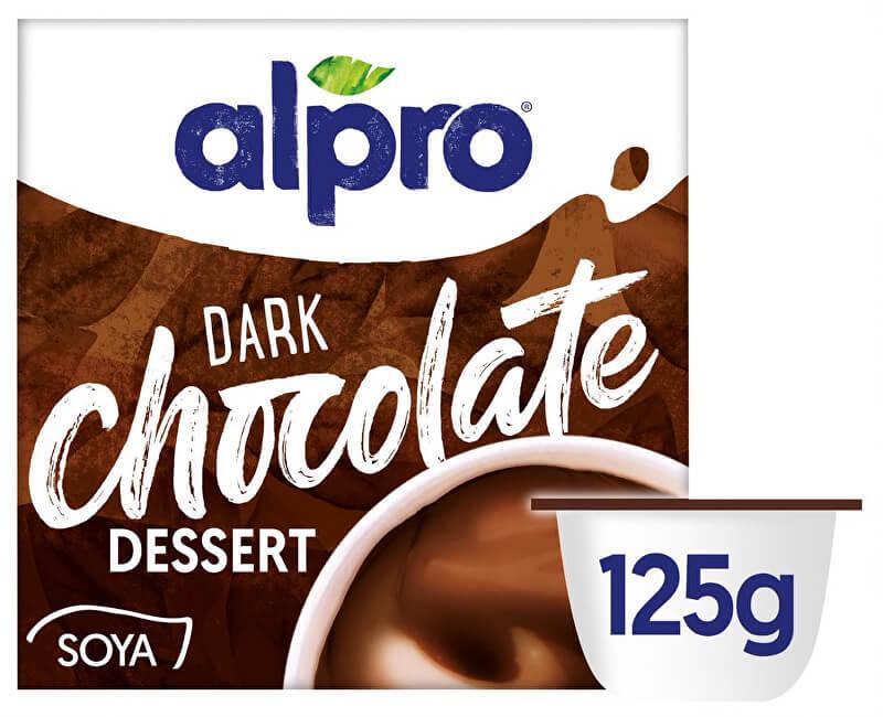 Zobrazit detail výrobku Alpro Sójový dezert s příchutí hořké čokolády 4 x 125 g