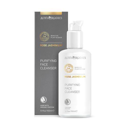 Zobrazit detail výrobku Alteya organics Čistící gel na obličej růže a jasmín 150 ml