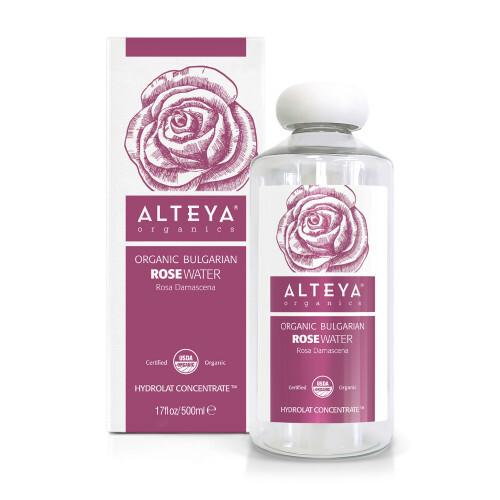 Zobrazit detail výrobku Alteya organics Růžová voda z růže damašské BIO 500 ml