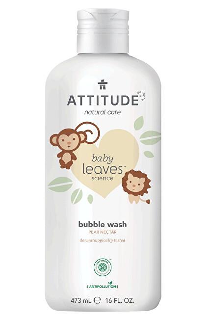 Zobrazit detail výrobku Attitude Dětská pěna do koupele Baby Leaves s vůní hruškové šťávy 473 ml - NEW
