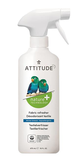 Zobrazit detail výrobku Attitude Přírodní osvěžovač textilu Nature+ s vůní ledovce s rozprašovačem 475 ml